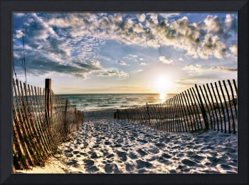 Foot Prints in the Sand Florida Beach Fine Art 30a