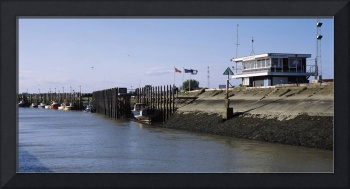 Building at the port Rye East Sussex England