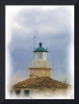 Corfu old lighthouse