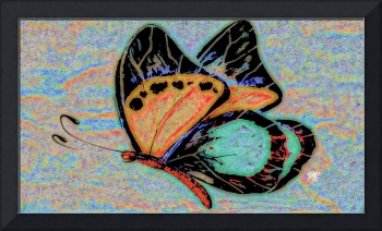 Abstract Butterfly Art 10