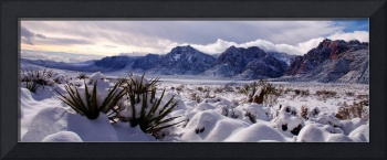 Red Rock Snow, Panoramic No. 3