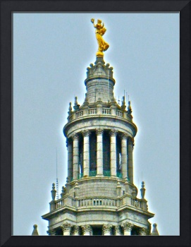 Gold Statue in NYC