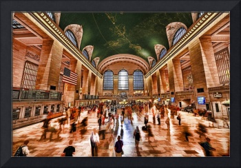 Grand Central Terminal Main Concourse Interior