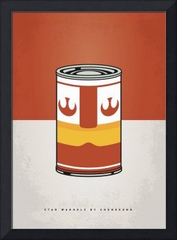 MY STAR WARHOLS LUKE SKYWALKER MINIMAL CAN POSTER