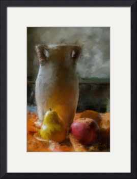 Fruit and Vase by D. Brent Walton