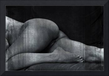 Julie Darling Nude Figurative Fine Art 0872 Rustic
