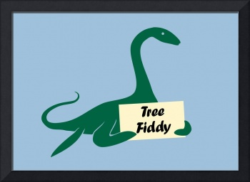 Tree Fiddy Plesiosaur Loch Ness Monster