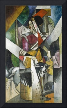Albert Gleizes~Woman with animals (Madame Raymond