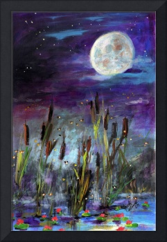 Wish Upon The Stars Painting by Ginette