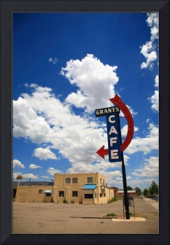 Route 66 - Grants Cafe Neon