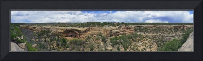 Chapin Mesa Panorama at Mesa Verde Natl Park