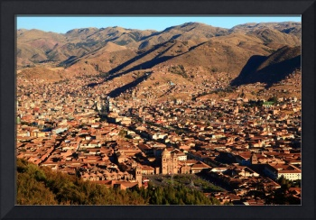 Cusco City Overlook, Cusco Peru