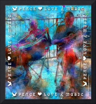 Peace Love Music Guitar & Mandolin