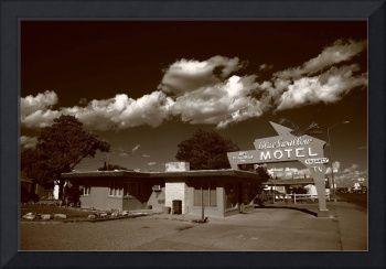 Route 66 - Blue Swallow Motel