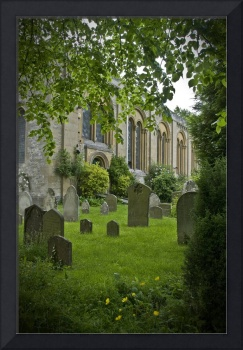 English Graveyard, Oxford, England