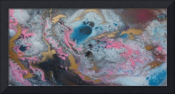 Contemporary Abstract Painting -  Liquid Dreams 2,