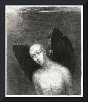 The Fallen Angel by Odilon Redon