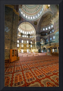 Interior of Yeni Cami (New Mosque), Istanbul