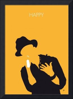 No034 MY Pharrell Williams Minimal Music poster