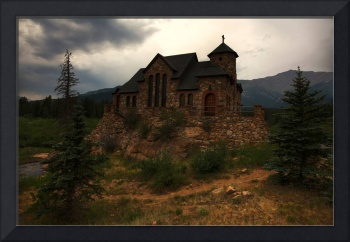 St. Malo Old Stone Church - Rocky Mountain Nationa