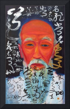 Lao Tzu by Huang Xiang and William Rock