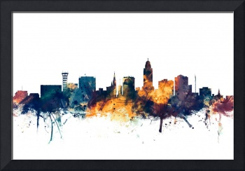 Lincoln Nebraska Skyline