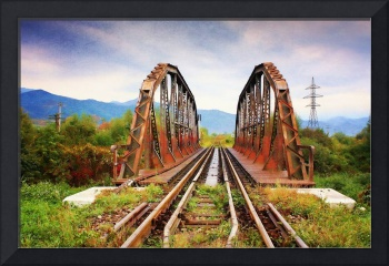 Iron Bridge - Canvas