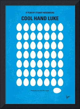 No616 My Cool Hand Luke minimal movie poster