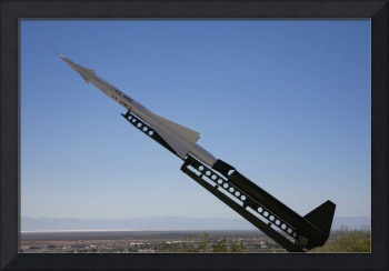 Missile on display at Alamogordo Space Museum New