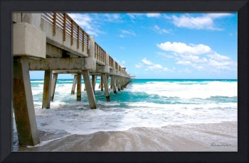 Seascape Juno Beach Pier Florida B1