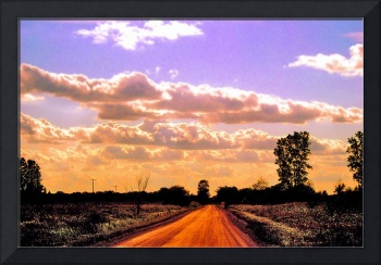rural road horizon