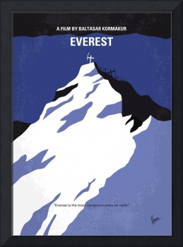 No492 My Everest minimal movie poster
