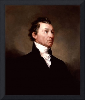 Portrait of James Monroe, 5th President of the Uni