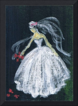 The Bride,acrylic painting ,by Marie L.