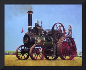 steam traction engine Ransomes Sims and Jefferies