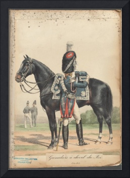 French Soldier in Uniform, France, 1800s - 22