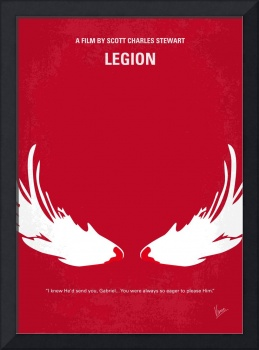 No050 My legion minimal movie poster