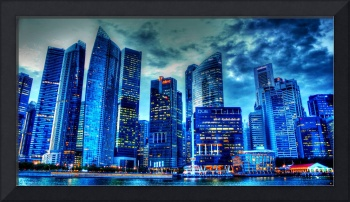 City Twilight - Urban Landscape Singapore 2013