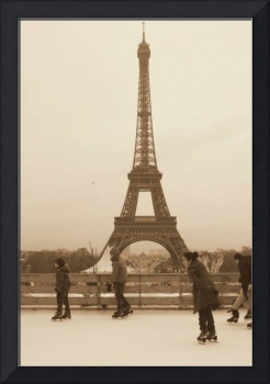 Holiday Fun at the Eiffel Tower