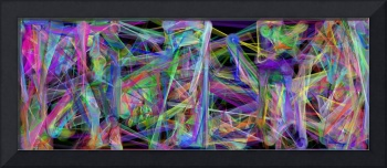 Geometric Abstract 2 by Leslie Harlow