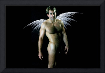Classic Male Nude Angel