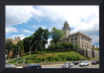 Yonkers City Hall sitting majestically on, what el
