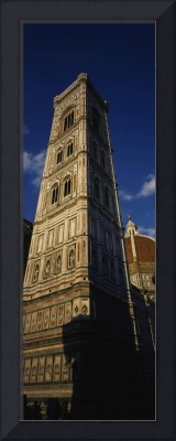 Low angle view of a bell tower
