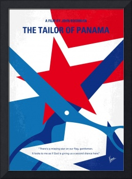 No923 My The Tailor of Panama minimal movie poster