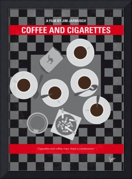 No808 My Coffee and Cigarettes minimal movie poste