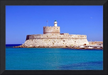 Fort Saint Nicholas, Rhodes, Greece.
