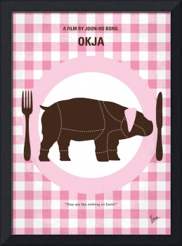 No921 My Okja minimal movie poster