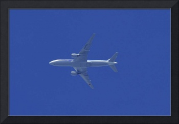 Blue ANA Into The Blue B-777/200, JA706A