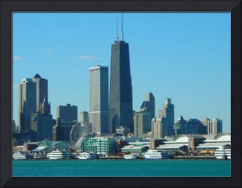 Chicago Skyline and Navy Pier