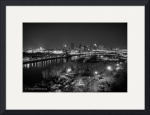 City Lights - St Paul BW by Wayne Moran